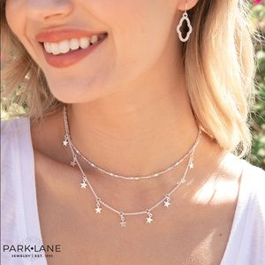 ParkLane Starburst Necklace silvertone
